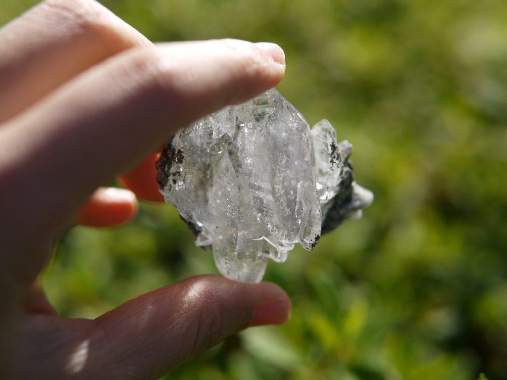 ガネッシュヒマール 水晶クラスター
