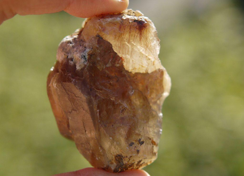 ザギマウンテンクオーツ原石 アストロフィライト