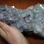 グリーンフローライト 2kg超 大結晶