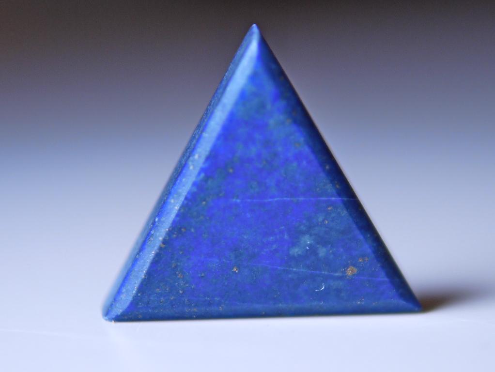 ラピスラズリ 三角カットルース
