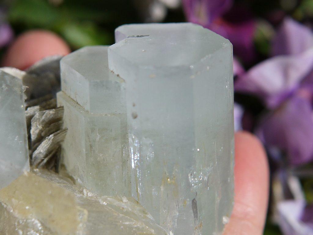 アクアマリン結晶
