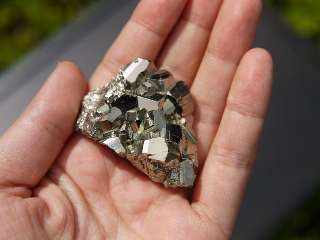 極上パイライト原石 ペルー産