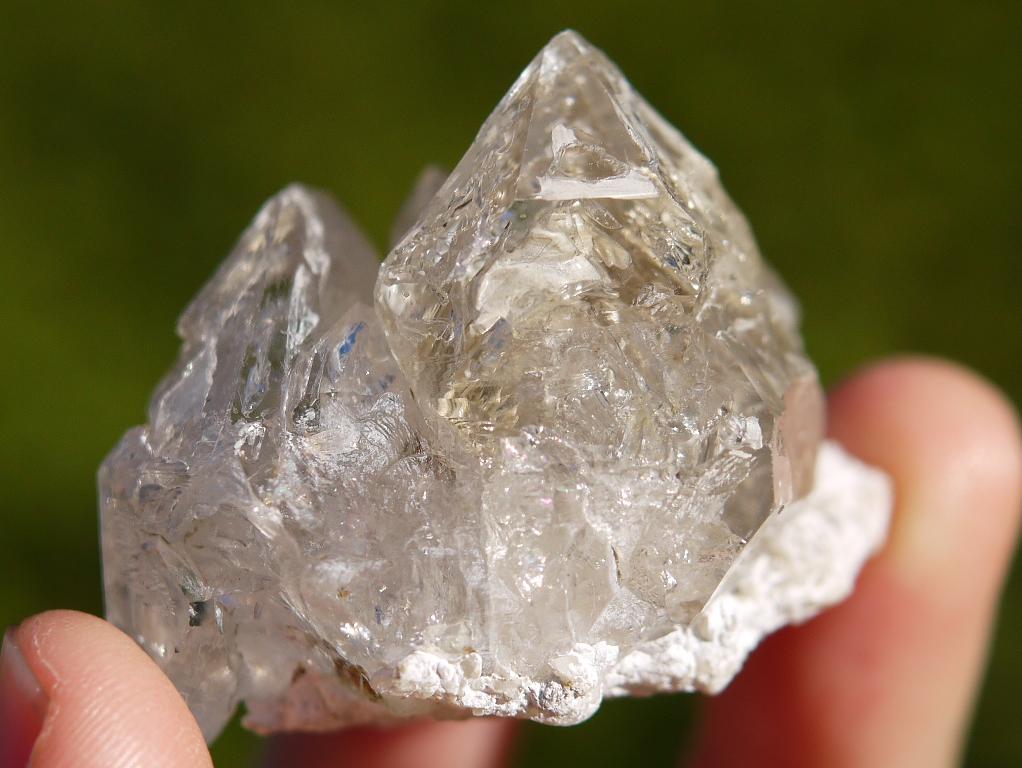 エレスチャル水晶クラスター