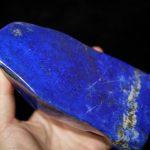 極上品質アフガニスタン産ラピスラズリ磨き 870g