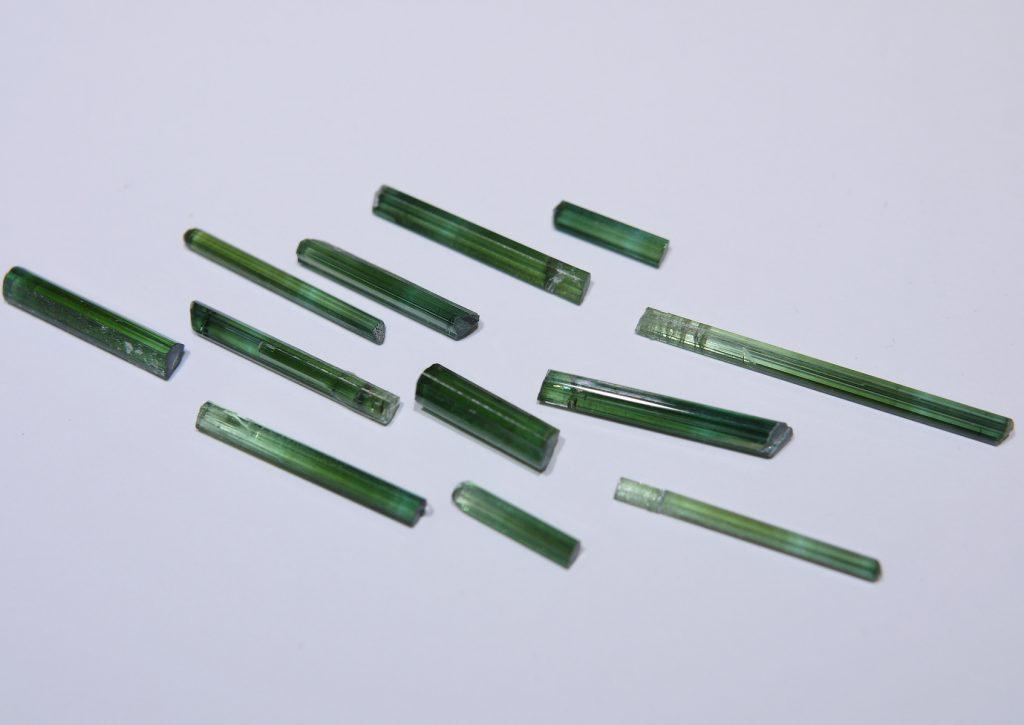 グリーントルマリン結晶セット